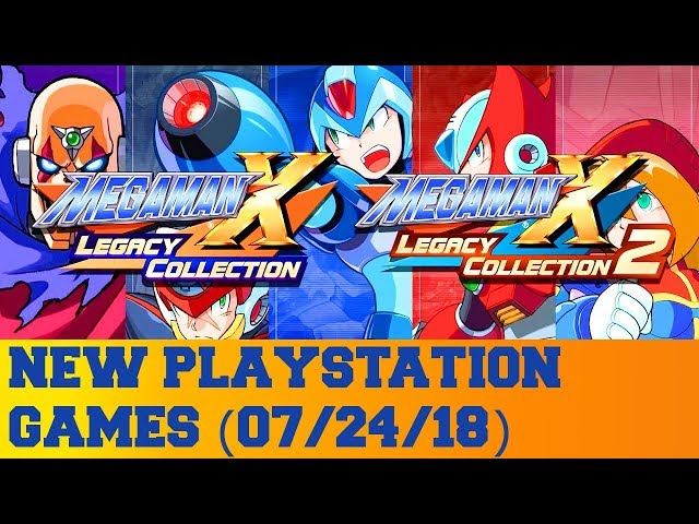 New PlayStation Games for July 24th 2018