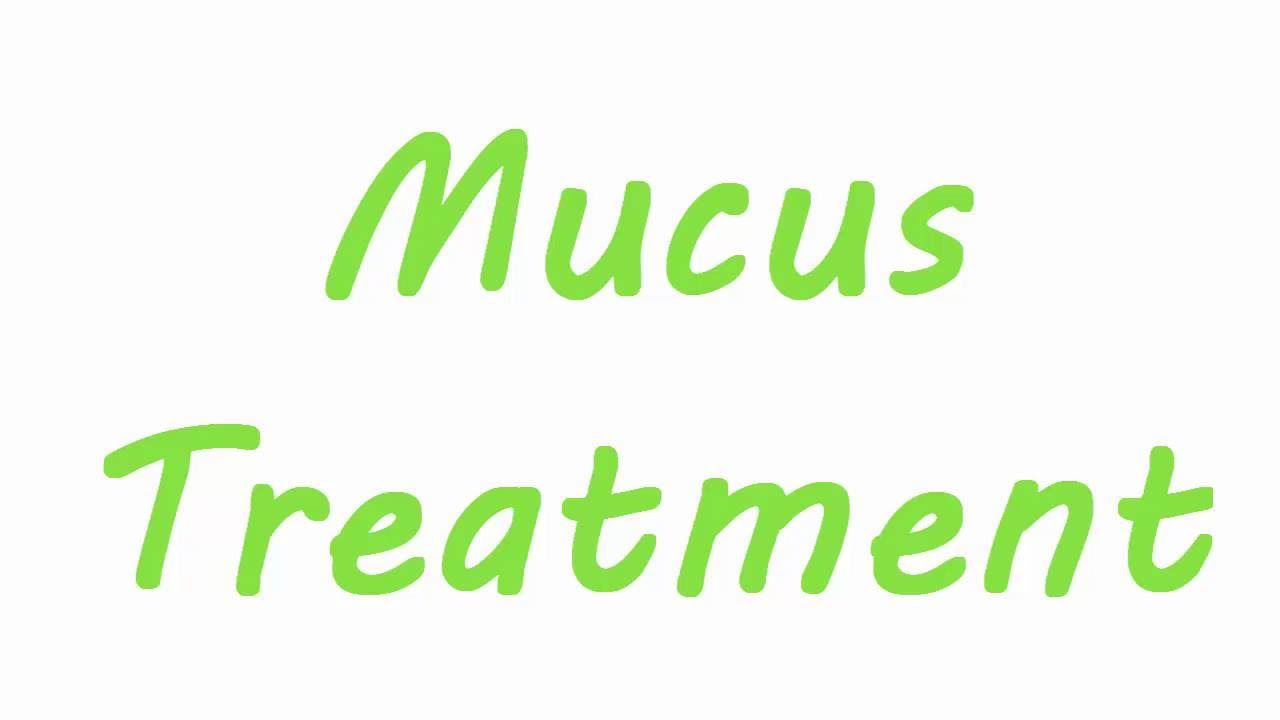 What is a natural home remedy to get rid of excessive phlegm or mucus?