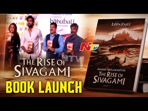 The Rise of Sivagami Book Launch in Delhi || Rana Daggubati || SS Rajamouli || Ramya Krishna