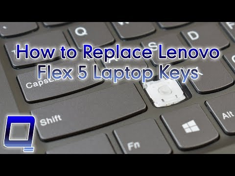 How To Replace Lenovo Flex 5 Laptop Keys