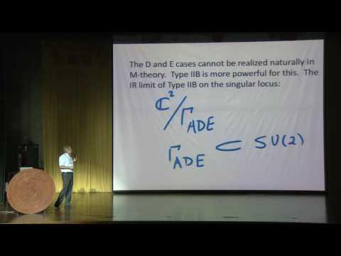 Cumrun Vafa  - 6d Superconformal Field Theories