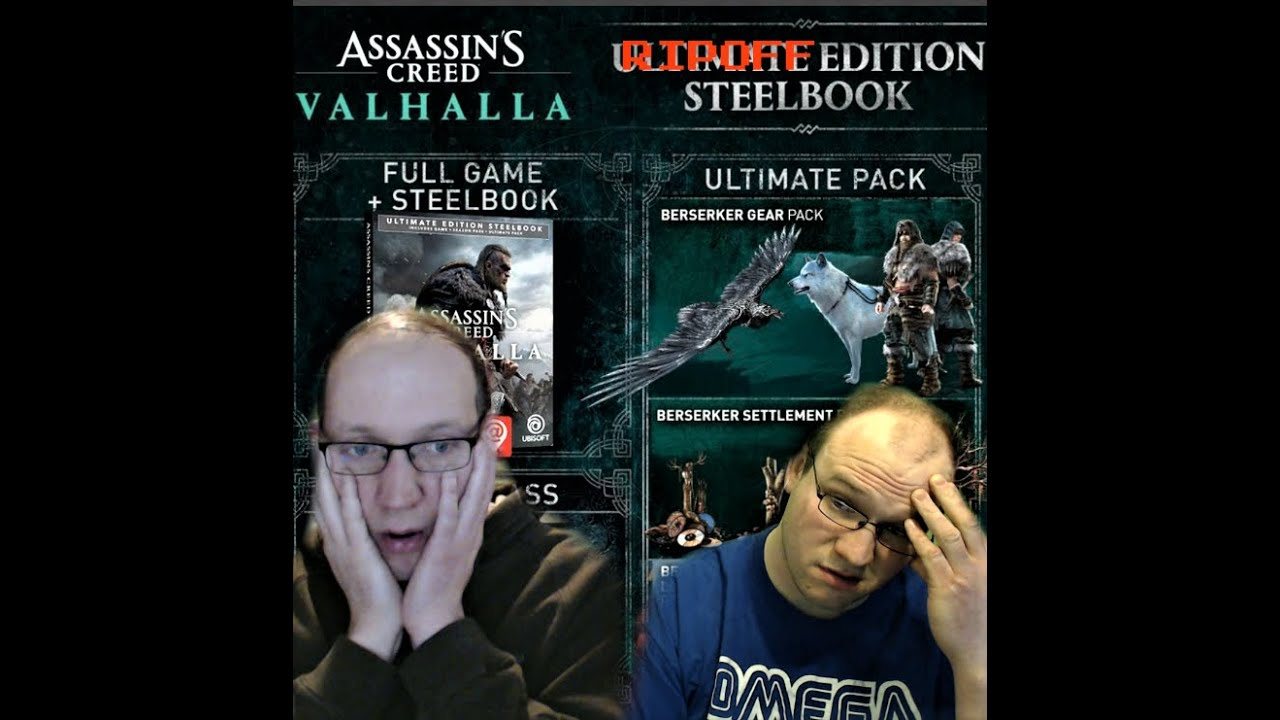 Do Not Buy Assassin S Creed Valhalla Ultimate Editions Breakdown And Review They Both Suck Trash Youtube