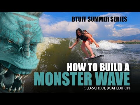 BUILD A MONSTER WAKE SURF WAVE 2.0 - ANY BOAT - MALIBU VLX USED