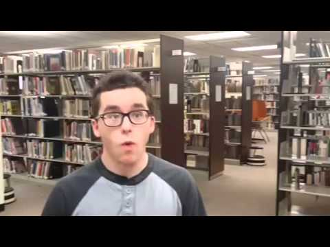 "GTCC students answer ""What does the GTCC Library mean to you?"""