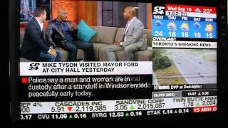 [FULL INTERVIEW] Mike Tyson tells off Canadian news anchor in an interview