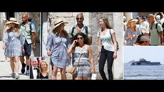 Steve Jobs' widow and her boyfriend holiday in Croatia on the $100million yacht the late Apple