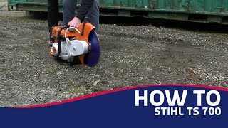 How To: Stihl TS700