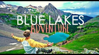 BLUE LAKES COLORADO - EṖIC CAMPING