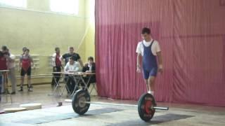 Дюжев Дмитрий, вк 56 Рывок 70 кг