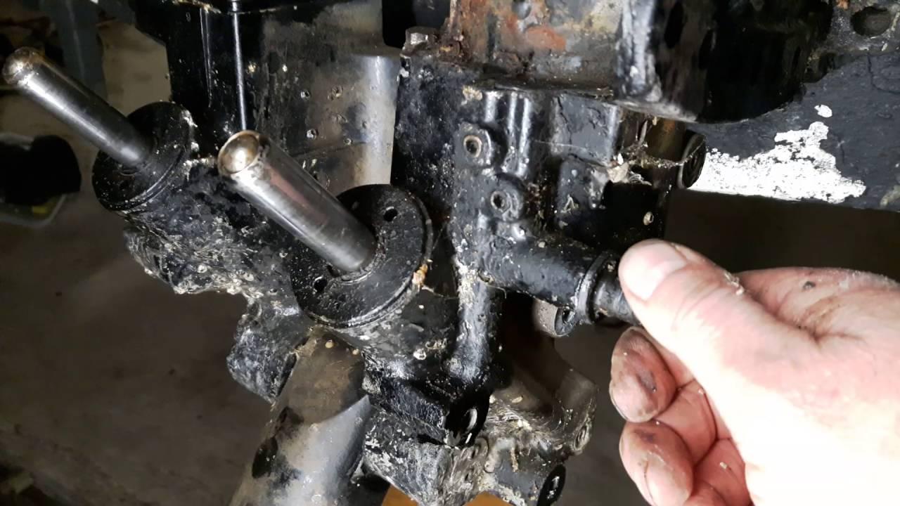 Mercury Motor 115 Trim Tilt Removal  YouTube