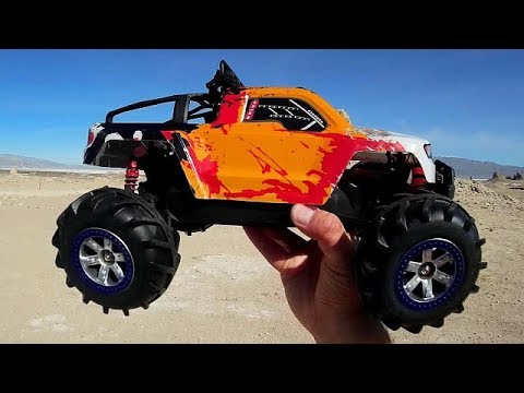 fy 12 brave 1 12 scale rc crawler test drive review youtube