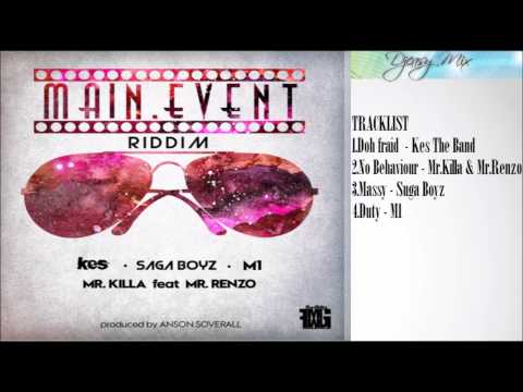Main Event Riddim mix  {SOCA 2015}  (Anson Soverall  FMMG Productions)