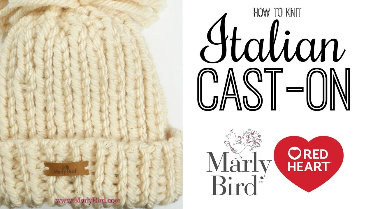 How to Knit Italian Cast On