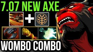 SPEED BUILD AXE - Wombo Combo Dota 2 Patch 7.07 New Meta Cancer Gameplay