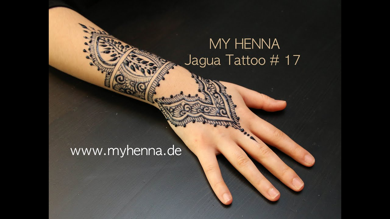 My Henna Jagua Tattoo 17 Youtube