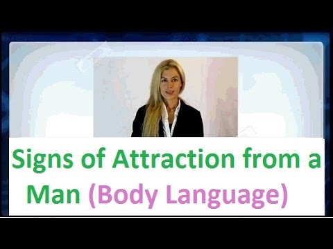 Man body language attraction