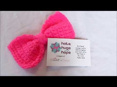 Crochet Bow Pattern Youtube