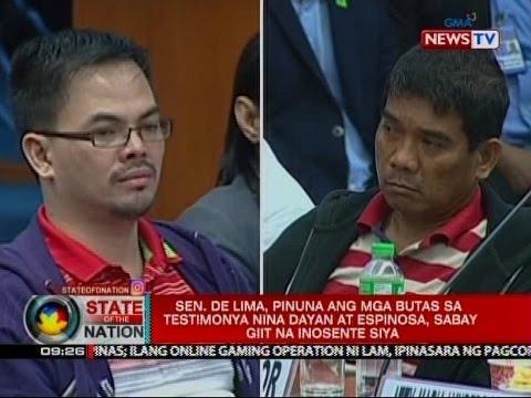 Ronnie Dayan, ikinulong ng Senado matapos i-cite in contempt dahil sa pabago-bagong salaysay