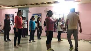 Zumba dance choreography on Hindi zingaat _dhadak