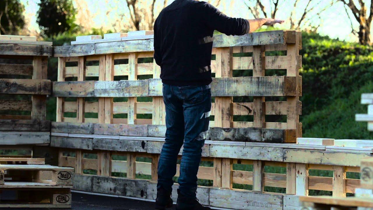 Abri De Jardin Avec Palettes video | un toulousain fabrique avec des palettes des abris