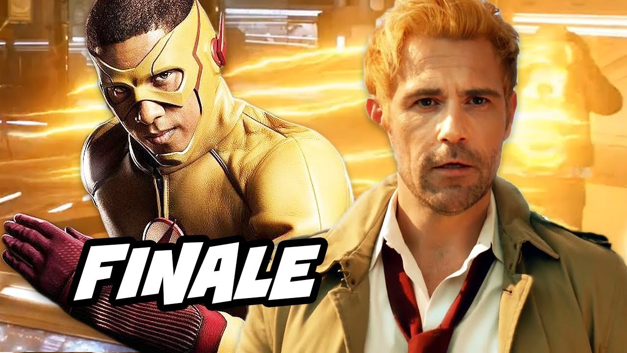 Legends of Tomorrow Season 3 Episode 18 Finale - TOP 10 The Flash Arrow  Easter Eggs