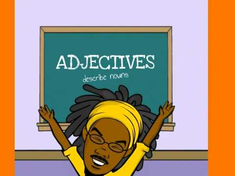 Mr. Folkes - Parts of Speech (Nouns, Verbs, and Adjectives)