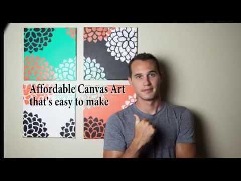 Easy Canvas Art for the Amatuer Artist