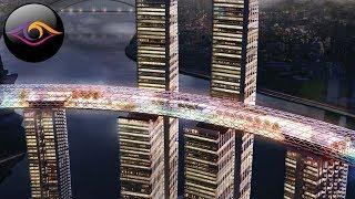 ГОРИЗОНТАЛЬНЫЙ НЕБОСКРЕБ - чудо Китайского строительства! / Невероятные Факты
