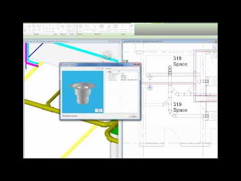 MagiCAD 2015 4 for Revit - New connection tool for sewers and