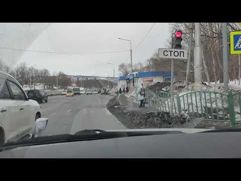 Объездная дорога г.Елизово - г.Петропавловск-Камчатский 11 февраля 2020г.
