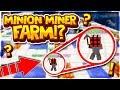 AFK MINER MINION COBBLESTONE GENERATOR | Minecraft Skyblock | VanityMC | [2]