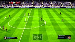 fifa 15 gameplay ps4 barcelona vs real madrid