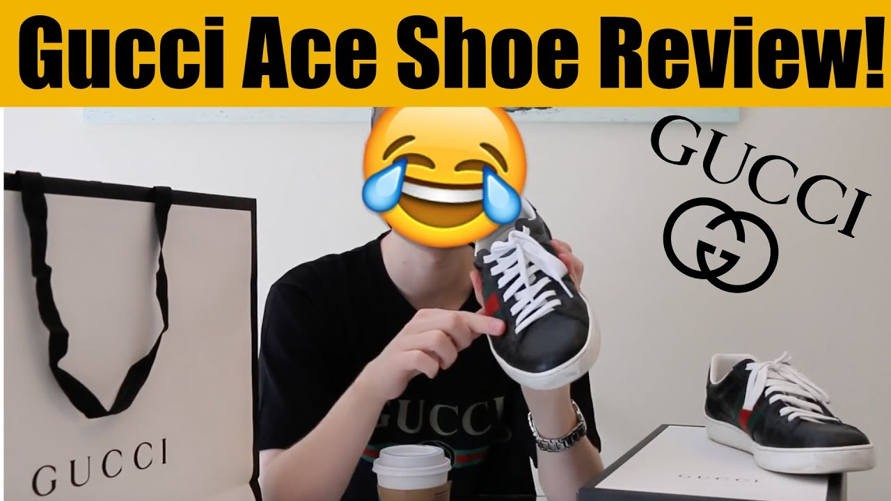 c3125397d88 Gucci Ace Shoes Review - Leather Sneakers - 3 TIPS - YouTube