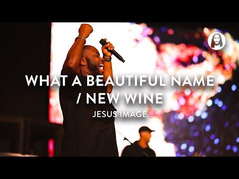 What A Beautiful Name / New Wine | Jesus Image Worship