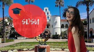 Як вчинити в San Diego State University? Кампус-тур та інструкція по надходженню.