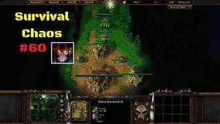 Warcraft 3 | Survival Chaos #60 - Not even lag can stop him! | WarBoss