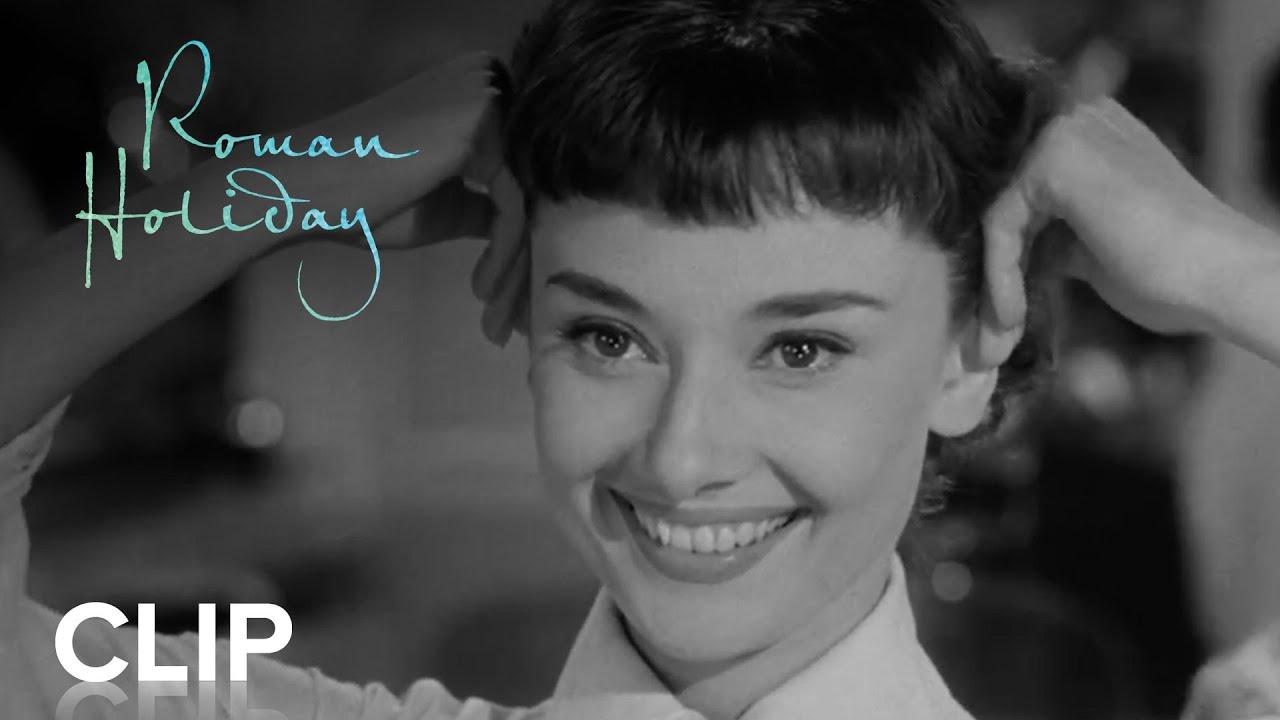 Roman Holiday 1953 15 Haircut Youtube