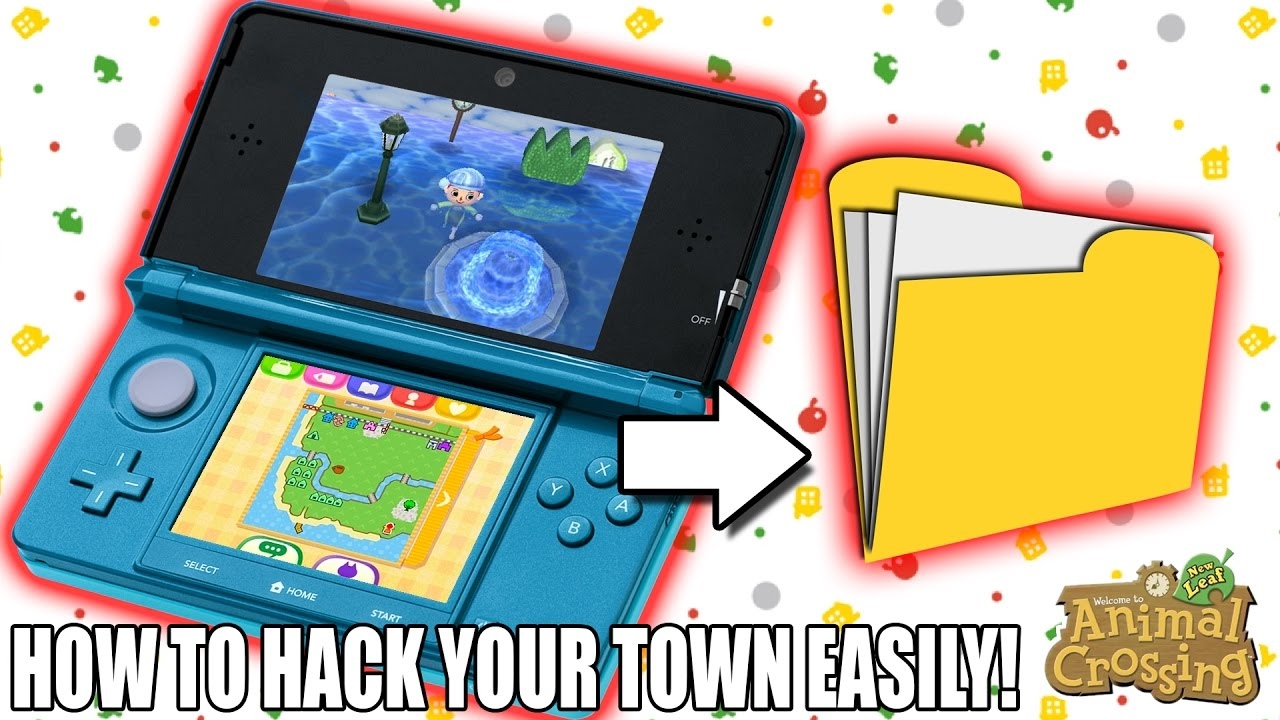 How to easily hack your town animal crossing new leaf youtube animal crossing new leaf gumiabroncs Image collections