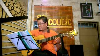 Chim trắng mồ côi - Minh Vy  - Guitar Cover
