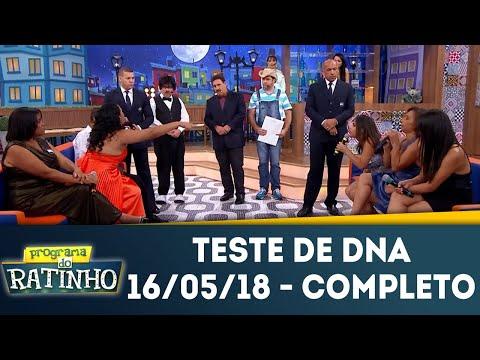 Teste De DNA - Completo | Programa Do Ratinho (16/05/18)