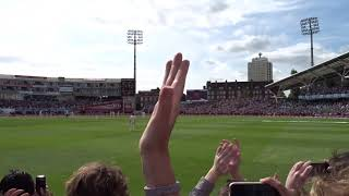 Alastair Cook Ovation (England v India Test Match at the Oval)