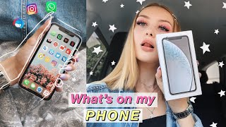 WHATS ON MY PHONE & manipuliertes iPhone Storytime | SelinaViia