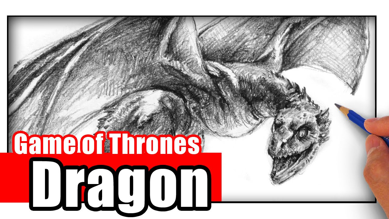 How To Draw A Dragon From Game Of Thrones