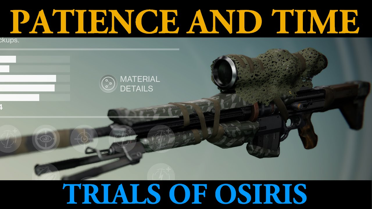 Patience and Time is Amazing! (Destiny Trials of Osiris ...