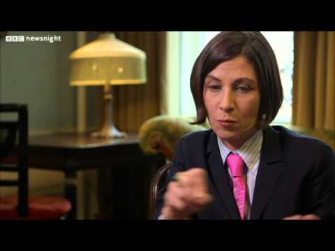 NEWSNIGHT: Kirsty Wark interviews author Donna Tartt about 'The Goldfinch'