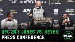Download UFC 247 Jon Jones vs. Dominick Reyes: Pre-Fight Press Conference Mp3 and Videos