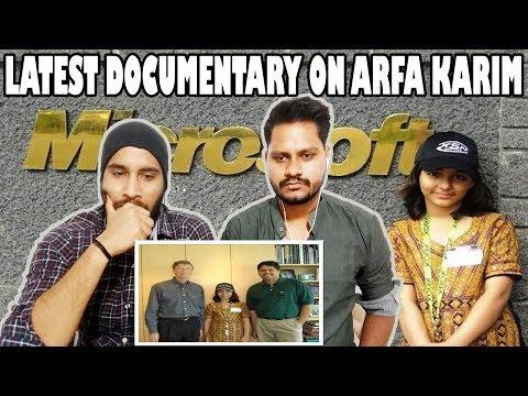 Indian Reaction On Microsoft Certified Arfa Karim A 16 Year old Pakistani Girl | Motivational Video