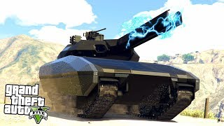 GTA 5 DOOMSDAY HEIST : THE FUTURISTIC TANK!