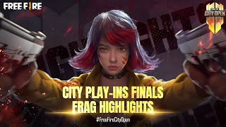 FFCO City Play-Ins Finals | Free Fire City Open