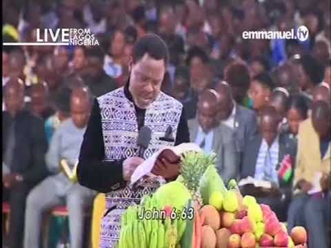 EMMANUEL TV LIVE SERVICE SUNDAY 04 02 2018 PROPHET TB JOSHUA AT THE ALTER 1 VIDEO 5 OF 9